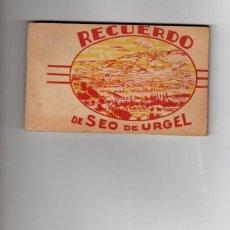 Postales: SEO DE URGEL. BLOC DE 22 POSTALES. COMPLETO. Lote 183575828