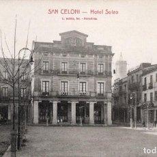 Postales: SANT CELONI. HOTEL SUIZO. ROISIN. Lote 183583287