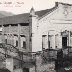 Postales: SANT CELONI. ATENEO. ROISIN. Lote 183583415