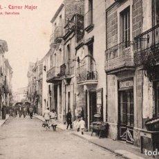 Postales: SANT CELONI. 5 CARRER MAJOR. ROISIN. Lote 183583647
