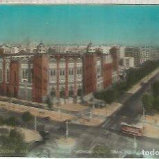 Postales: BARCELONA PLAZA DE TOROS ESCRITA. Lote 183584628