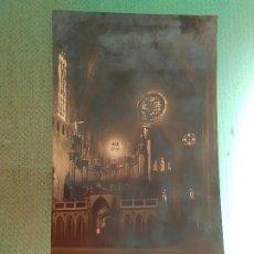 Postales: POSTAL GERONA- INTERIOR DE LA CATEDRAL. Lote 183618402