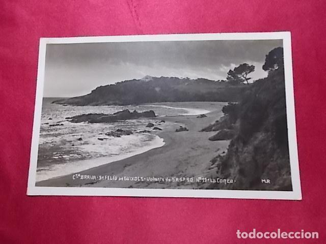TARJETA POSTAL. CTA. BRAVA. ST. FELÍU DE GUIXOLS. VOLTANTS DE S´AGARÓ. LA CONCA. MR (Postales - España - Cataluña Moderna (desde 1940))