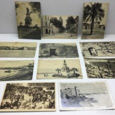 Postales: 11 POSTALES ANTIGUAS DE TARRAGONA - EDICIONES VARIAS . Lote 183785717