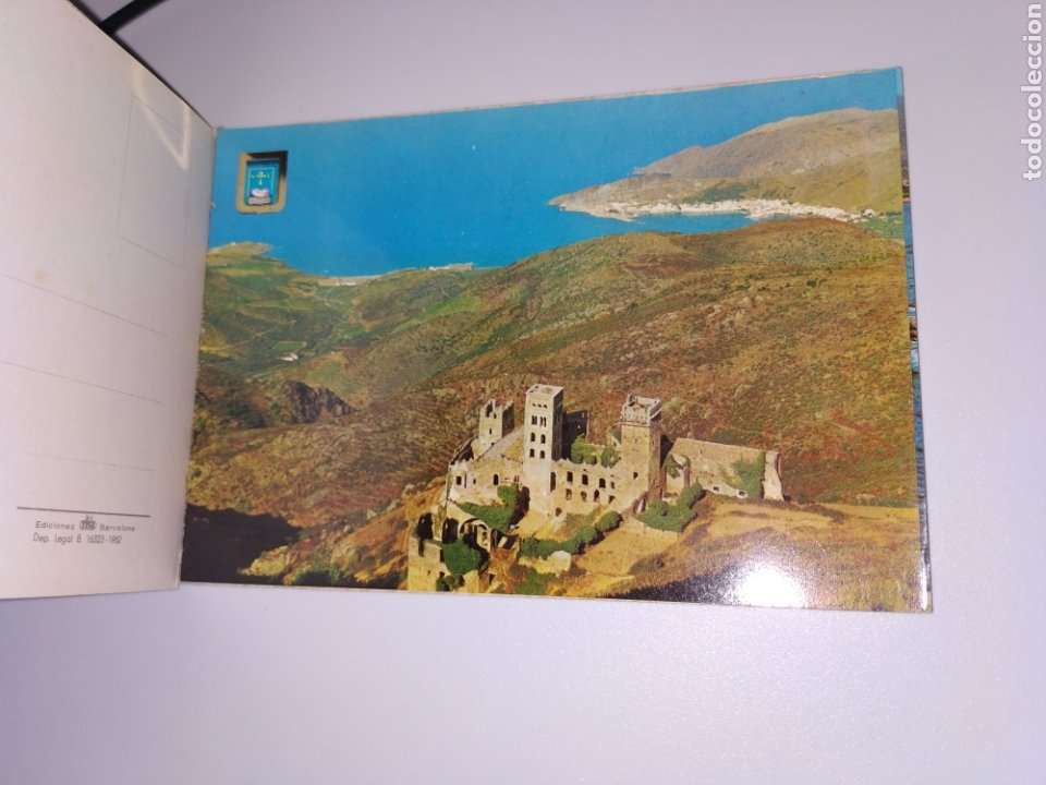 Postales: Tarjetas postales Port de llança Girona costa brava años 60 - Foto 3 - 183796945