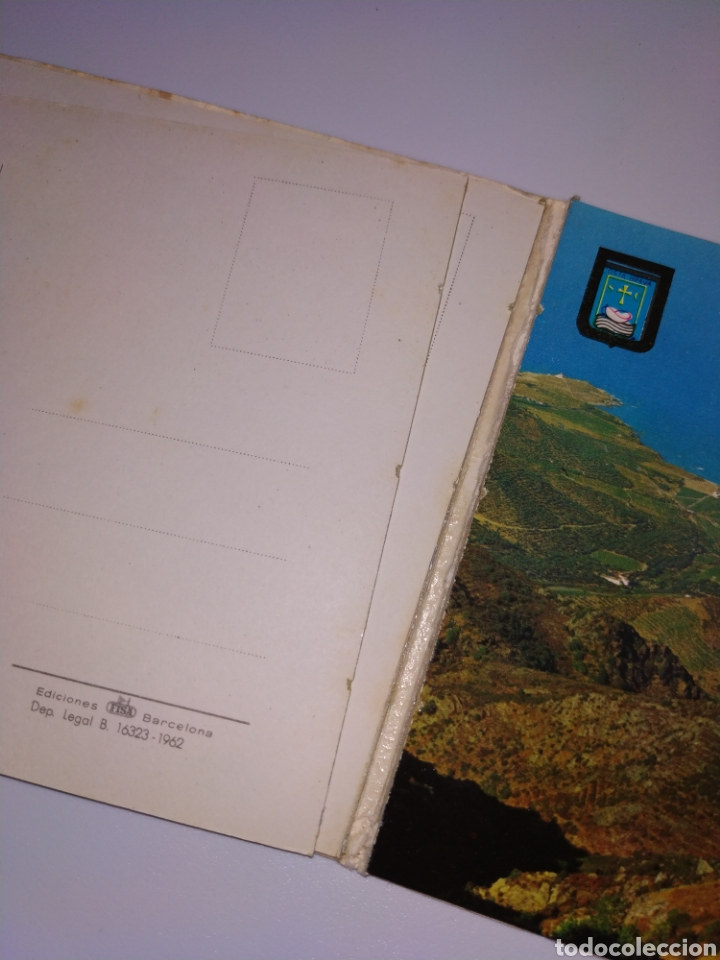 Postales: Tarjetas postales Port de llança Girona costa brava años 60 - Foto 4 - 183796945
