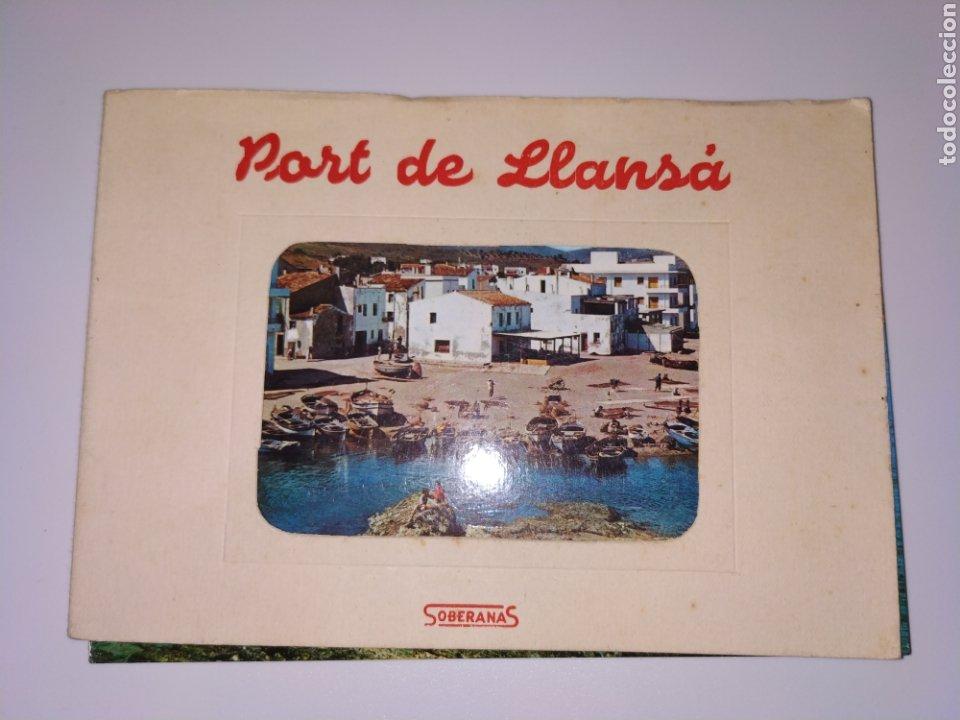TARJETAS POSTALES PORT DE LLANÇA GIRONA COSTA BRAVA AÑOS 60 (Postales - España - Cataluña Moderna (desde 1940))