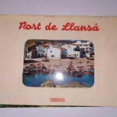 Postales: TARJETAS POSTALES PORT DE LLANÇA GIRONA COSTA BRAVA AÑOS 60. Lote 183796945