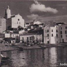 Postales: CADAQUÉS (GERONA) - COSTA BRAVA - PUERTO. Lote 182895130