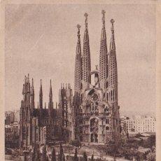 Postales: BARCELONA - SAGRADA FAMILIA (NO. 7) - ED. L. ROISIN / 1951. Lote 183844112