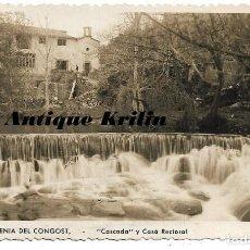 Postales: SANTA EUGENIA DEL CONGOST .- CASCADA Y CASA RECTORAL .- EDICION V. COLL. Lote 183851680