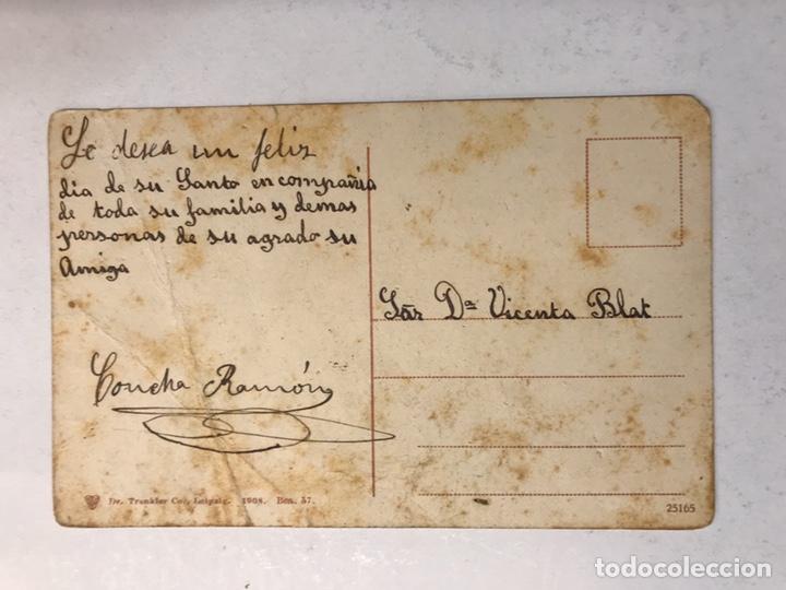 Postales: BARCELONA. Postal Animada Coloreada. Paseo de Colon. Edita: Dr. Trenkler (h.1920?) - Foto 2 - 183864897