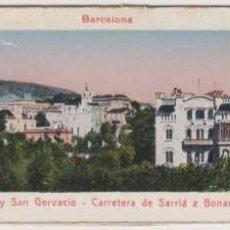 Postales: PANORAMA DE SARRIA Y SAN GERVASIO - CARRETERA DE SARRIA A BONANOVA - ESCUELAS PIAS.. Lote 278887283