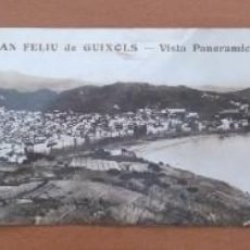 Postales: SANT FELIU DE GUIXOLS VISTA PANORAMICA POSTAL. Lote 184355066