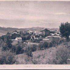 Postales: POSTAL PUIGCERDA - VISTA PARCIAL Y SIERRA DEL CADI - GUILERA. Lote 184603546
