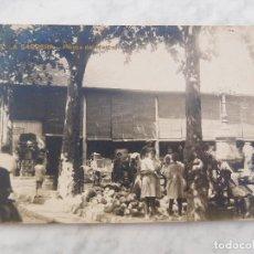 Postales: POSTAL DE BARCELONA. LA SAGRERA PLAÇA PLASSA DEL MERCAT 2. ED. GIFAG SIN CIRCULAR. Lote 184634220