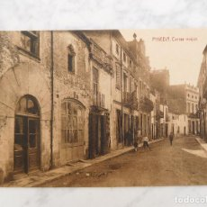 Postales: POSTAL DE PINEDA DE MAR. CARRER MAJOR. ED. ANTONIETTI SIN CIRCULAR. Lote 184636832