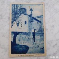 Postales: POSTAL DE PINEDA DE MAR. CRUZ DE TERME 14. ED. ROISIN CIRCULADA REPÚBLICA. Lote 184637061