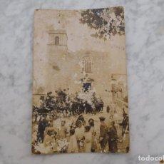 Postales: POSTAL DE TEIA TEYA. LA IGLESIA (ENTIERRO) LEER DESCRIPCIÓN. Lote 184656985