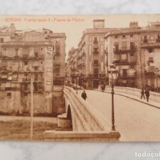 Postales: POSTAL DE GIRONA GERONA. PUENTE ISABEL II 4. ED. THOMAS. SIN CIRCULAR. Lote 184660416