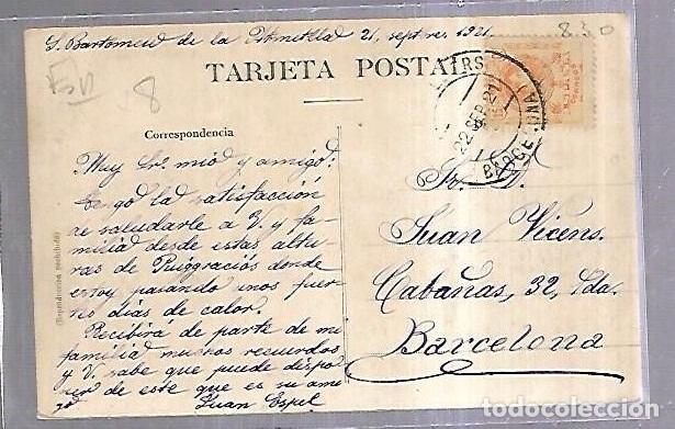 Postales: TARJETA POSTAL. LA GARRIGA. BARCELONA. MOLI BLANCAFORT. L.ROISIN - Foto 2 - 184686160