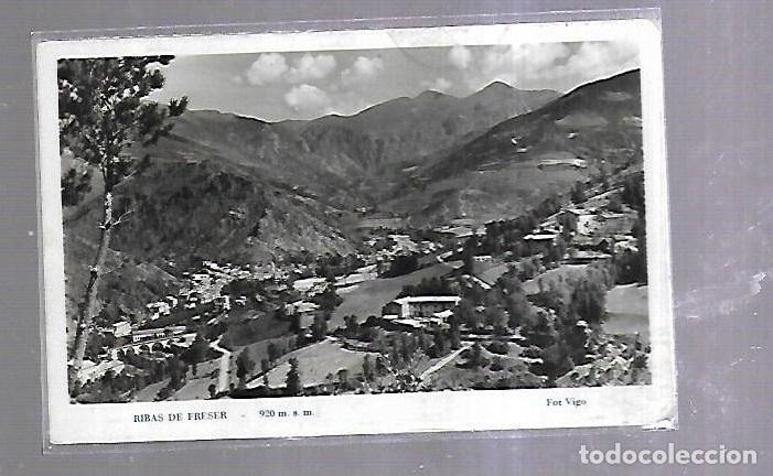 TARJETA POSTAL. RIBAS DE FRESER. GERONA. 920 M.S.M. FOTO VIGO. (Postales - España - Cataluña Antigua (hasta 1939))