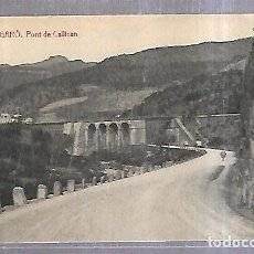 Postales: TARJETA POSTAL. BARCELONA. FIGARO. PONT DE CALLICAN. THOMAS.. Lote 184693861