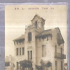 Postales: TARJETA POSTAL. LA GARRIGA, BARCELONA. TORRE IRIS. ER. Lote 184694282