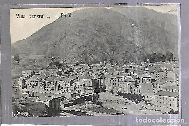 TARJETA POSTAL. RIPOLL, GIRONA- VISTA GENERAL II. J.M.RIPOLL (Postales - España - Cataluña Antigua (hasta 1939))