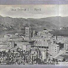 Postales: TARJETA POSTAL. RIPOLL, GIRONA- VISTA GENERAL I. J.M.RIPOLL. Lote 184694418