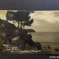 Postales: ROSAS-CAP NORFEU-POSTAL FOTOGRAFICA V.FARGNOLI-VER REVERSO-(65.087). Lote 184723622