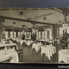 Postales: BARCELONA-PALACE HOTEL-SALON RESTAURANTE-ARCHIVO ROISIN-POSTAL FOTOGRAFICA-VER REVERSO-(65.114). Lote 184725965