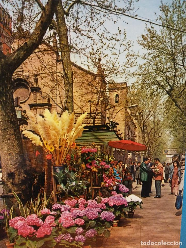 BARCELONA. RAMBLA DE LAS FLORES. SIN USAR (Postales - España - Cataluña Moderna (desde 1940))