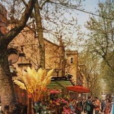 Cartes Postales: BARCELONA. RAMBLA DE LAS FLORES. SIN USAR. Lote 184904732
