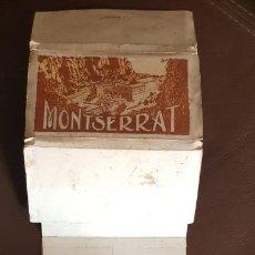 Postales: ESTUCHE-LIBRITO CON 18 POSTALES DE MONTSERRAT DE LUCIEN ROISIN (AÑOS 30) - VER FOTOS Y DESCRIPCIÓN. Lote 184921456