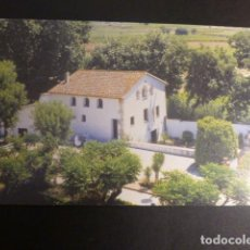 Postales: VILAFRANCA DEL PENEDES BARCELONA CASA NATAL DE MARIA RAFOLS. Lote 186025557