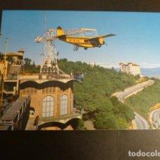 Postales: BARCELONA TIBIDABO DETALLE. Lote 186025792