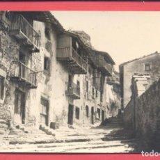 Postales: RUPIT (BARELONA) 20 CALLE DEL FOSSAR, CIRCULADA 1953, VER FOTOS. Lote 186052413