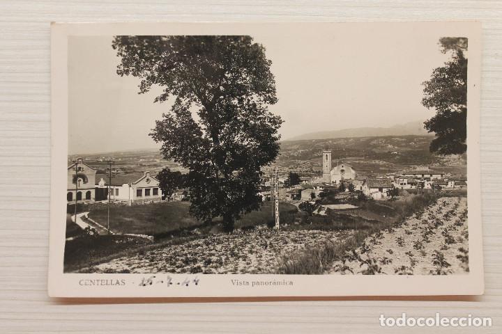 POSTAL CENTELLAS, VISTA PANORÁMICA (Postales - España - Cataluña Antigua (hasta 1939))