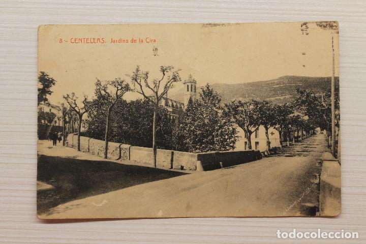 POSTAL CENTELLAS, JARDINS DE LA CIRA, THOMAS (Postales - España - Cataluña Antigua (hasta 1939))