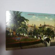 Postales: TARJETA POSTAL. BARCELONA. PLAZA DE URQUINAONA. DETALLE. 103. J.VENINI. Lote 186189577