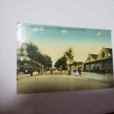 Postales: TARJETA POSTAL. BARCELONA. PASEO DE LA ADUNA Y ESTACION DE FRANCIA. 99. J.VENINI. Lote 186189592