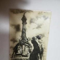 Postales: TARJETA POSTAL. BARCELONA. MONUMENTO A COLON. 637. ZERKOWITZ. Lote 186215720