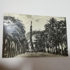 Postales: TARJETA POSTAL. BARCELONA. MONUMENTO A COLON. 513. ZERKOWITZ. Lote 186215745