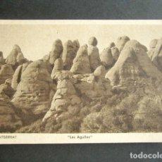 Postales: POSTAL MONTSERRAT. BARCELONA. LES AGULLES. . Lote 186376198