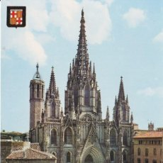 Postales: BARCELONA, CATEDRAL - ESCUDO DE ORO Nº 53 - EDITADA EN 1966 - S/C. Lote 187198575