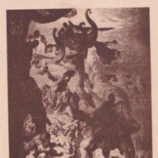 Postales: CATEDRAL DE VICH, J.M. SERT, L'HOMENATGE DE L'ORIENT - FOTOTIPIA THOMAS Nº 60 - S/C. Lote 187466590