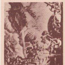 Postales: CATEDRAL DE VICH, J.M. SERT, L'HOMENATGE DE L'OCCIDENT - FOTOTIPIA THOMAS Nº 59 - S/C. Lote 187466645