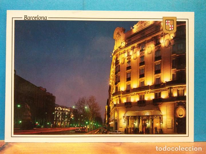 HOTEL RITZ. BARCELONA. BONITA POSTAL. NUEVA (Postales - España - Cataluña Moderna (desde 1940))
