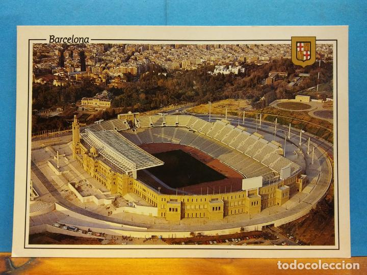 ESTADIO OLÍMPICO. BARCELONA. BONITA POSTAL. NUEVA (Postales - España - Cataluña Moderna (desde 1940))
